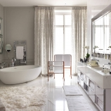 Nicola Parkin Design - Belgravia House - Master Bathroom